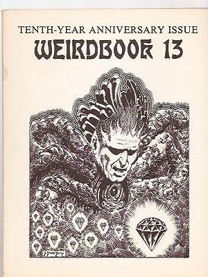 WEIRDBOOK 13 [TENTH-YEAR ANNIVERSARY ISSUE]: Weirdbook) [cover art