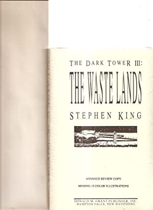 THE DARK TOWER III: THE WASTE LANDS [or mispelled as THE WASTELANDS]