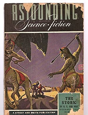 ASTOUNDING SCIENCE-FICTION OCTOBER 1943 VOL. XXXII NO.: Astounding Science-Fiction) [cover