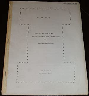Original Issue of the Murrelet Volume 1 Number 2 for September 1920 - Official Bulletin of the Pa...