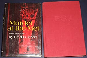 1971 First Edition in Dust Jacket of Murder At the Met by Fred G. Jarvis