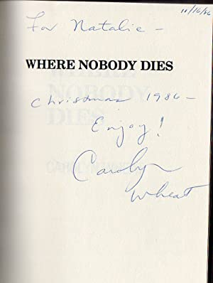 Where Nobody Dies a Cass Jameson Mystery