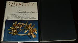 Quality It's Image in the Arts: Kronenberger, Louis editor