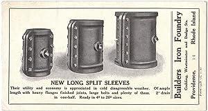 Original Builder's Iron Foundry Illustrated Advertising Ink: Builder's Iron Foundry