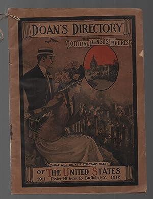 1911-1912 Doan's Directory Vintage Medical Advertising: Foster-Milburn Co