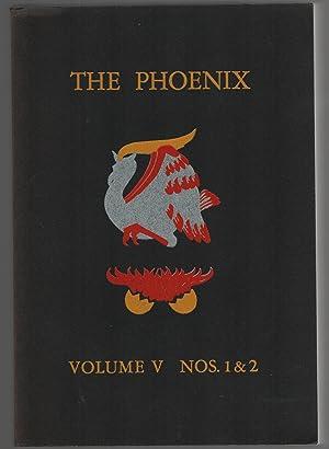 The Phoenix Volume V Nos. 1 &: James Cooney editor