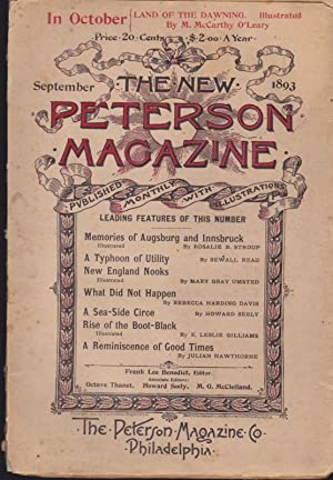The New Peterson Magazine for September 1893