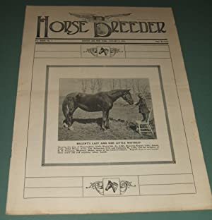 A Vintage Issue of the American Horse Breeder Magazine for January 5th, 1916