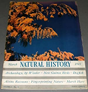 A Vintage Issue of Natural History Magazine: Edward M. Weyer