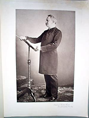 Photogravure Goupil Portrait of Theodore Thomas from a Photograph by Max Platz