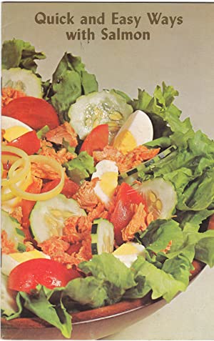 1970 Advertising Cookbook Quick and Easy Ways with Salmon