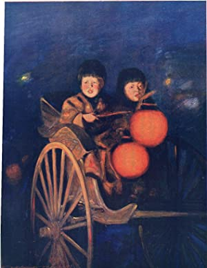 "Original 1905 Print ""By the Light of: Mortimer Menpes"