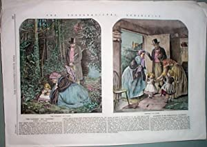 Hand Colored Engravings from the Illustrated London News June 7, 1862