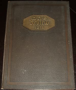 1931 Burrillville Rhode Island High School Yearbook: Burrillville High School