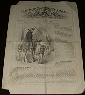 Rare 1864 Children's Magazine the Child At Home , Illustrated Engravings