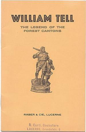 Vintage Swiss Souvenir Booklet of William Tell: J. K. L'Estrange