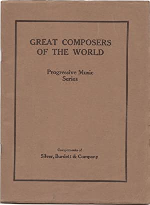 Great Composers of the World Who Have Contibuted to the Progressive Music Series