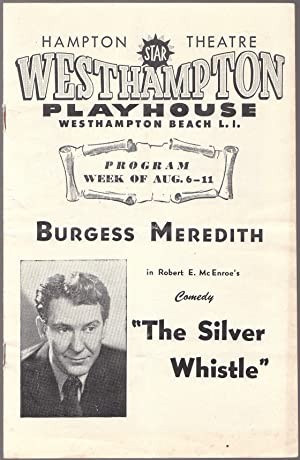 Westhampton Long Island Playhouse Souvenir Theater Program for Burgess Meredith in