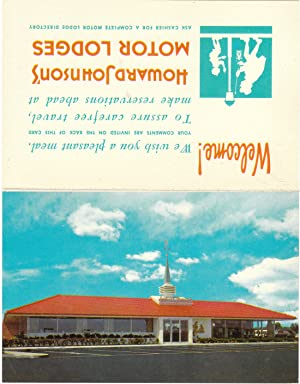 Howard Johnson Motor Lodges Postcard and Comment: Howard Johnson Motor