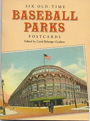 Six Old-Time Baseball Parks Postcards 1993 Reproductions