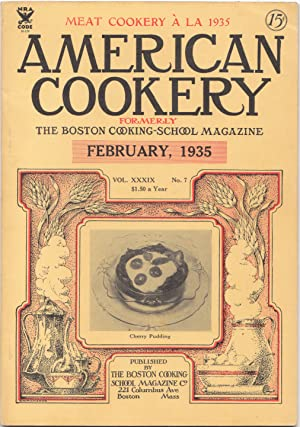American Cookery Magazine for February 1935
