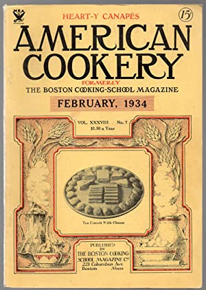 A Vintage Issue of the American Cookery Magazine for February 1934