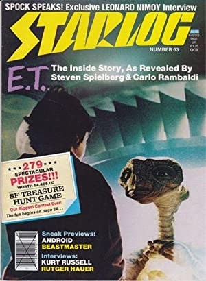 A Vintage Issue of Starlog Magazine for October 1982
