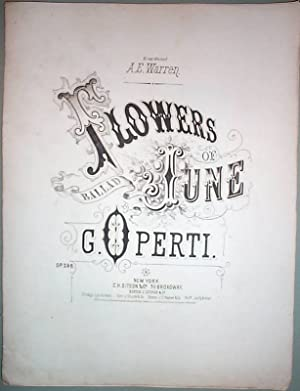 Flowers of June Sheet Music by G. Operti