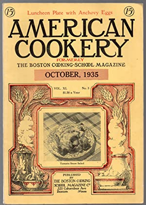 American Cookery Magazine for October 1935