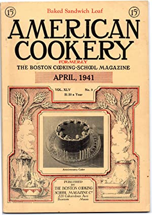 A Vintage Issue of the American Cookery Magazine for April 1941