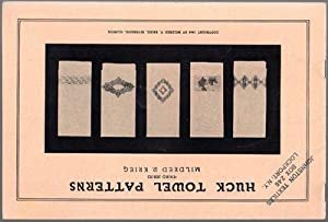 1940 Huck Towel Patterns Third Series: Mildred V. Krieg