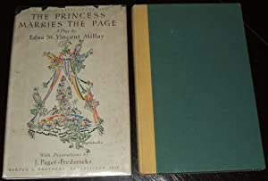 1932 First Edition in DJ the Princess: Edna St. Vincent