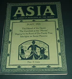 Asia Magazine for May 1921 Japan , China , Rare Photographs Vintage Magazine