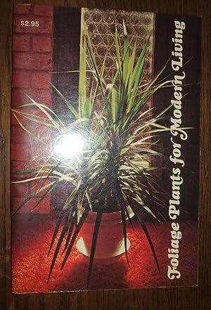 Foliage Houseplants for Modern Living: Coleman, M. Jane