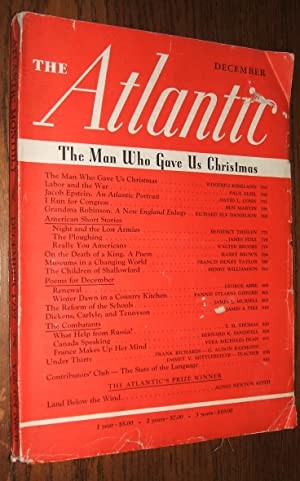 The Atlantic Monthly Vol. 164 No.6 December 1939