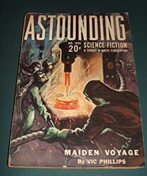 Astounding Science Fiction January 1939