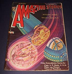 Amazing Stories for August 1930