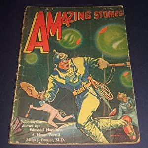Amazing Stories for July 1930