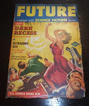 Future Combined with Science Fiction Stories, July 1951