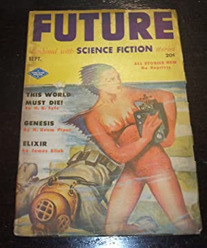 Future Combined with Science Fiction Stories, September 1951