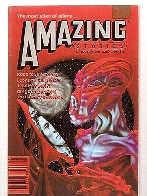 AMAZING STORIES MAGAZINE JANUARY 1988 VOLUME 62: Amazing Stories) [Robert