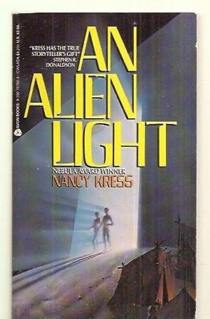 AN ALIEN LIGHT: Kress, Nancy [cover