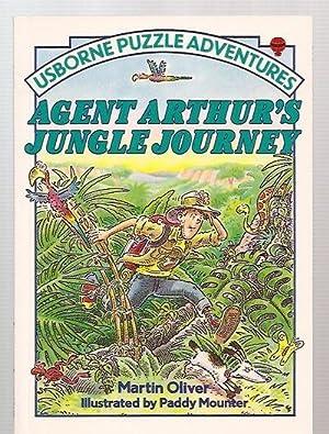 AGENT ARTHUR'S JUNGLE JOURNEY [USBORNE PUZZLE ADVENTURES: Oliver, Martin [illustrated