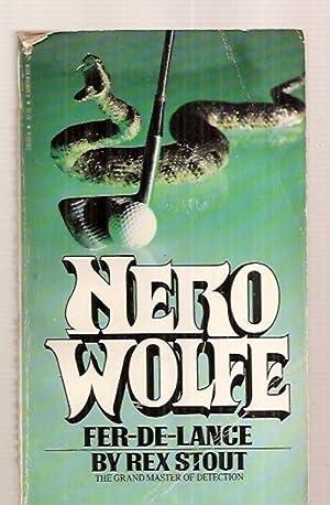 FER-DE-LANCE: A NERO WOLFE MYSTERY: Stout, Rex [cover