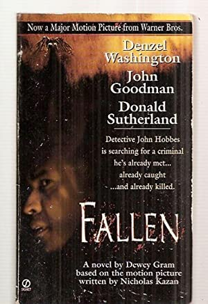 FALLEN [A NOVEL]: Gram, Dewey (novelization