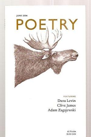 POETRY VOLUME CLXXXVIII [188] NUMBER 3 JUNE: Poetry) Wiman, Christian