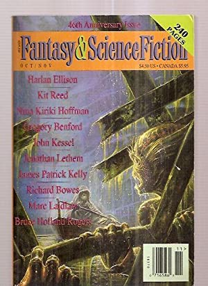 THE MAGAZINE OF FANTASY AND SCIENCE FICTION: The Magazine of