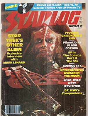 STARLOG JANUARY 1981 NUMBER 42: Starlog) [Susan Adamo,