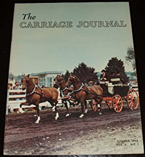 The Carriage Journal Summer 1968 Volume 6 Number 1