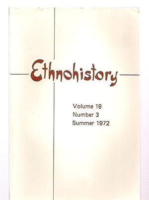 ETHNOHISTORY VOLUME 19 NUMBER 3 SUMMER 1972: Fontana, Bernard L.